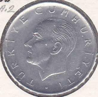 Turkey 1 Lira 1975