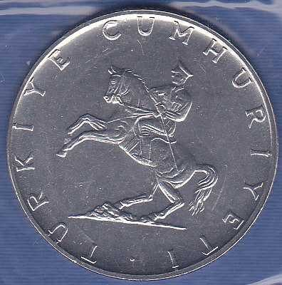 Turkey 5 Lira 1974