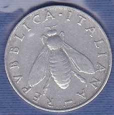 Italy 2 Lira 1957