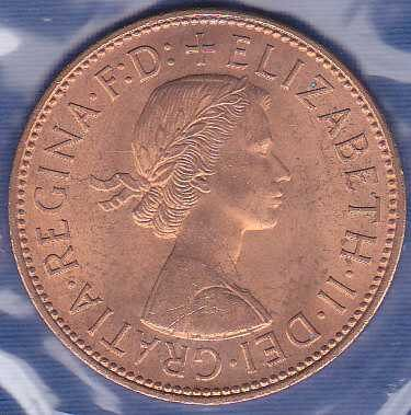 Great Britain 1 Penny 1964