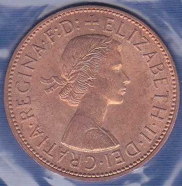 Great Britain 1 Penny 1965