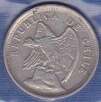 Chile 5 Centavos 1923