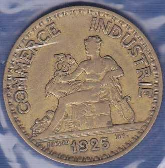 France 2 Francs 1925
