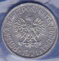 Poland 5 Groszy 1971