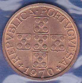 Portugal 50 Centavos 1970