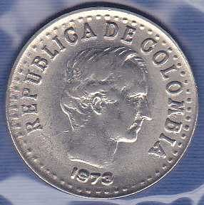 Colombia 20 Centavos 1973