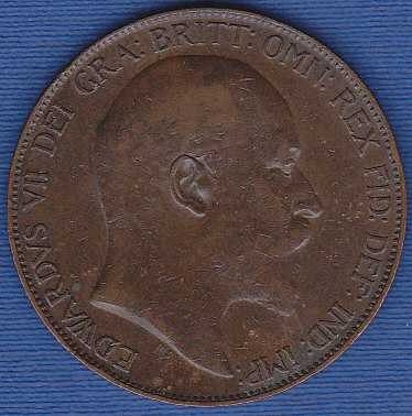 Great Britain 1 Penny 1905