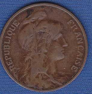 France 5 Centimes 1916
