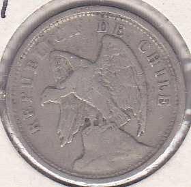 Chile 20 Centavos 1925