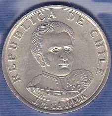 Chile 1 Escudo 1972