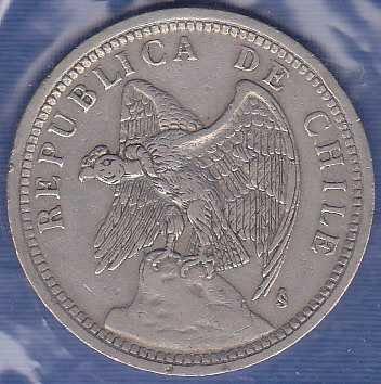 Chile 1 Peso 1933