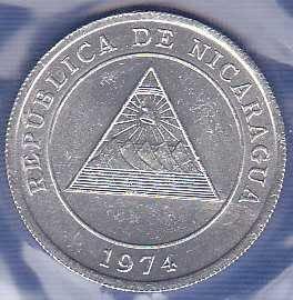 Nicaragua 5 Centavos 1974
