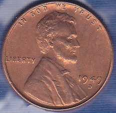 1949 D Lincoln Wheat Cent