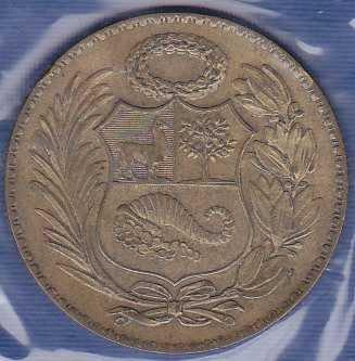 Peru 1/2 Sol 1947