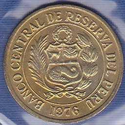 Peru 1 Sol 1976