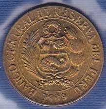 Peru 10 Centavos 1969