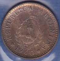 Argentina 1 Centavo 1940