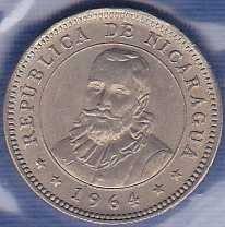 Nicaragua 5 Centavos 1964