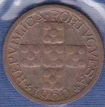 Portugal 10 Centavos 1960