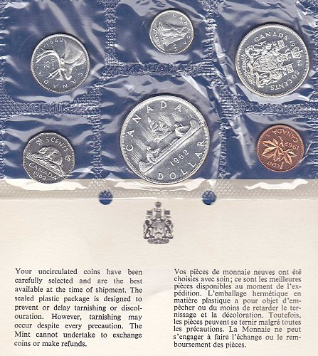 1962 Canadian Mint Set