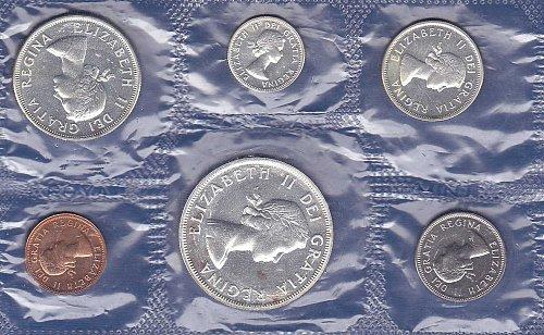 1963 Canadian Mint Set
