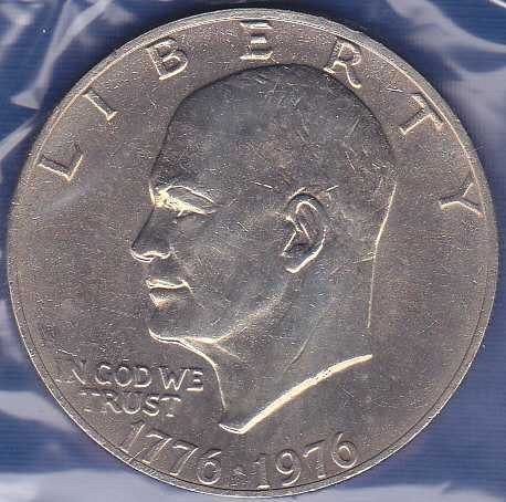 1976 P Eisenhower Dollar Type 2
