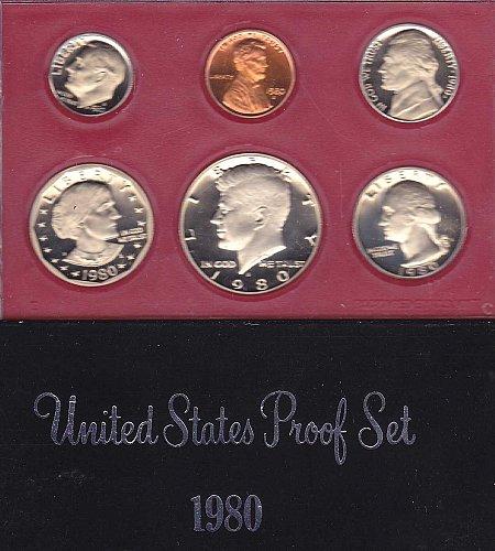 1980 S Proof Set