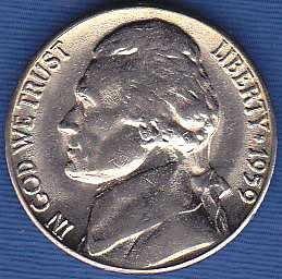 1959 D Jefferson Nickel