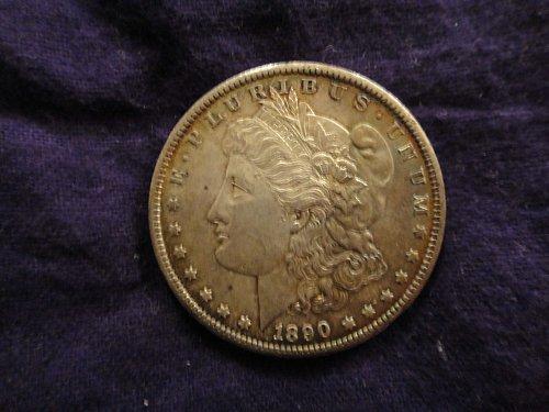 1890-S Morgan Dollar MS-64++ (Near Gem) With Nice Original Toning!