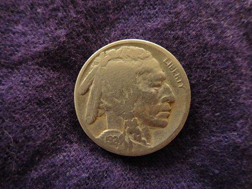 1924-S Buffalo Nickel Very Good-10