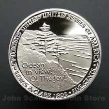 2005 S PROOF OCEAN VIEW JEFFERSON NICKEL