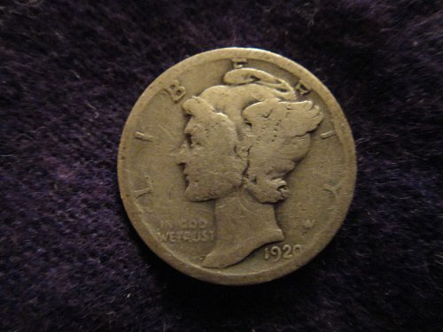 1920-D Mercury Dime Good-4-