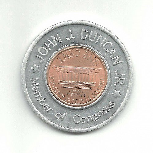 JOHN J. DUNCAN JR., US CONGRESSMAN from TENNESSEE