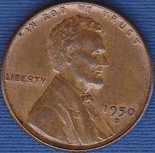 1950 D Lincoln Wheat Cent