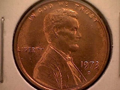 1973-D LINCOLN MEMORIAL PENNY