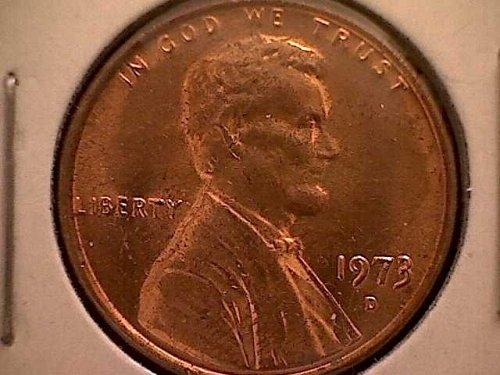 1973-D LINCOLN MEMORIAL PENNY