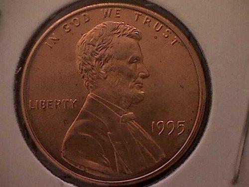 1995 P Lincoln Memorial Penny