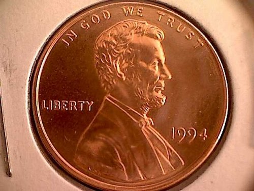 1994-P LINCOLN MEMORIAL CENT