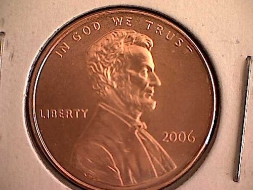 2006-P LINCOLN MEMORIAL PENNY