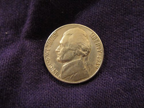 1939-S Jefferson Nickel Extra Fine-40