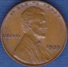 1939 P Lincoln Wheat Cent