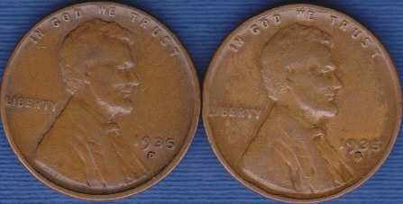 1935 S & D  Lincoln Wheat Cent