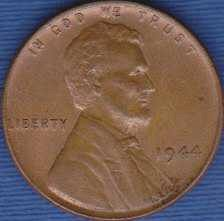 1944 P Lincoln Wheat Cent