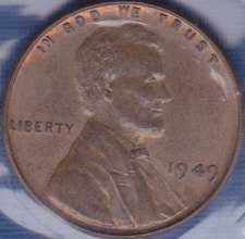 1949 P Lincoln Wheat Cent