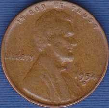 1954 D Lincoln Wheat Cent