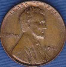 1941 P Lincoln Wheat Cent