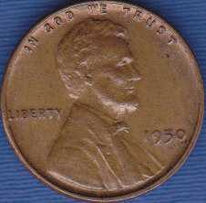 1950 P Lincoln Wheat Cent
