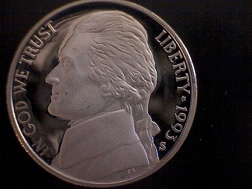 1993-S JEFFERSON NICKEL