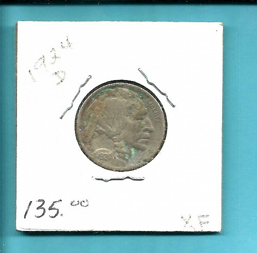 1924 D  BUFFALO NICKEL