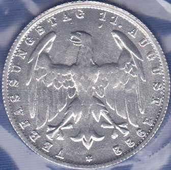 Germany 3 Mark 1922G
